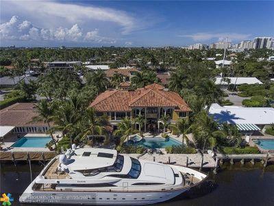 Coral Ridge Single Family Home For Sale: 2832 NE 24th Pl