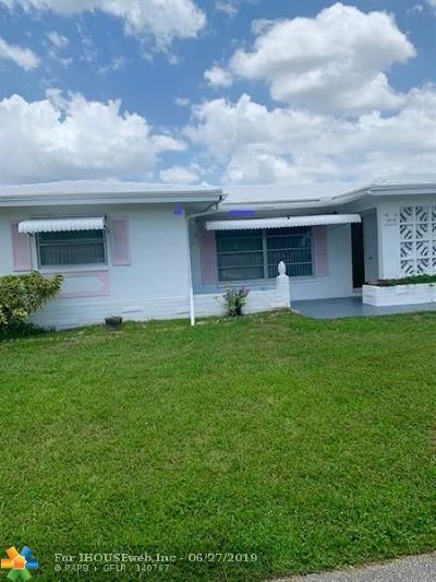 Tamarac Single Family Home For Sale: 5415 NW 49th Ter