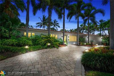 Coral Ridge Single Family Home For Sale: 2808 NE 23rd St