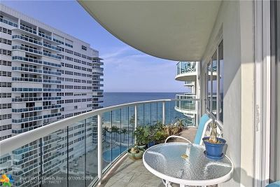 Fort Lauderdale Condo/Townhouse For Sale: 3410 Galt Ocean Dr #907 N