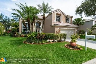 Coral Springs Single Family Home For Sale: 11680 NW 2nd Dr