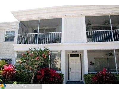 Fort Lauderdale Condo/Townhouse For Sale: 6409 Bay Club Dr #1