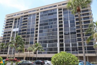 Hallandale Condo/Townhouse For Sale: 2049 S Ocean Dr #805