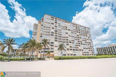 Pompano Beach Condo/Townhouse For Sale: 1012 N Ocean Blvd #211