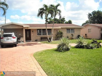 Pembroke Pines Single Family Home For Sale: 8681 Johnson St