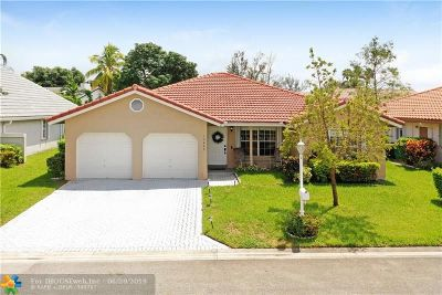 Coral Springs Single Family Home Backup Contract-Call LA: 10645 NW 16th Ct