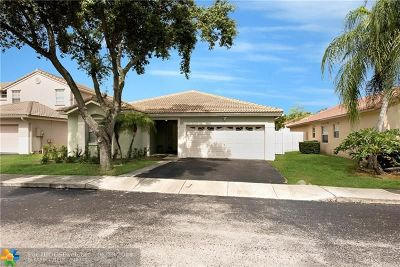 Sunrise Single Family Home For Sale: 1015 NW 124th Ter