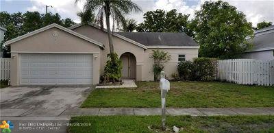 Miramar Single Family Home For Sale: 9720 Atlantic Dr