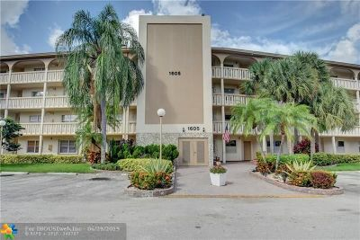 Coconut Creek Condo/Townhouse For Sale: 1605 Abaco Dr #K3