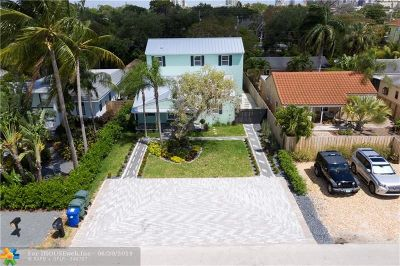 Fort Lauderdale Single Family Home For Sale: 501 SW 10th St