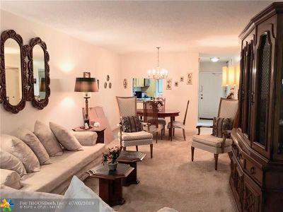 Plantation Condo/Townhouse For Sale: 1801 NW 75th Ave #101