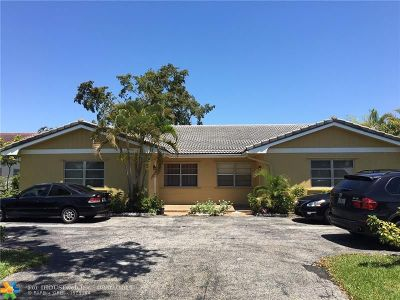 Coral Springs Multi Family Home For Sale: 11421 NW 38th St
