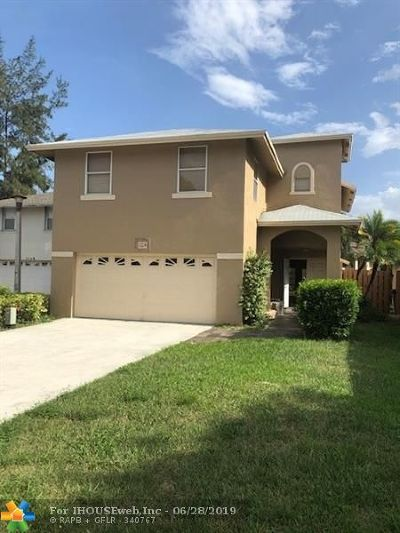 Coconut Creek Single Family Home For Sale: 3324 NW 23rd Ct