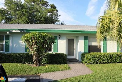 Delray Beach Condo/Townhouse For Sale: 5191 Poppy Place #c