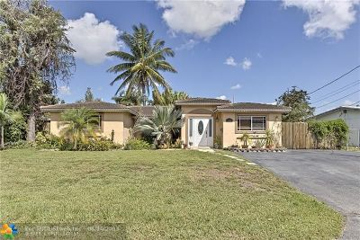 Pompano Beach Single Family Home For Sale: 1741 SW 6th Ave