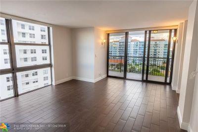 Condo/Townhouse For Sale: 3031 N Ocean Blvd #1502