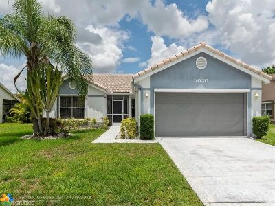 Tamarac Single Family Home For Sale: 7030 NW 108th Ave