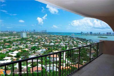 Miami Condo/Townhouse For Sale: 1800 NE 114th St #PH-2