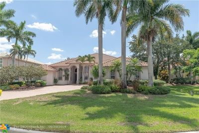 Coral Springs Single Family Home For Sale: 1445 NW 126th Dr