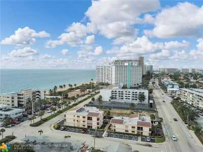 Condo/Townhouse For Sale: 4140 N Ocean Dr #202E