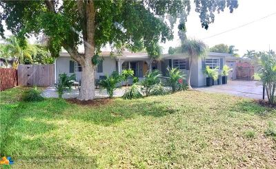 Broward County Single Family Home For Sale: 420 NW 39th