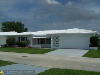 Tamarac Single Family Home For Sale: 8516 NW 59th St