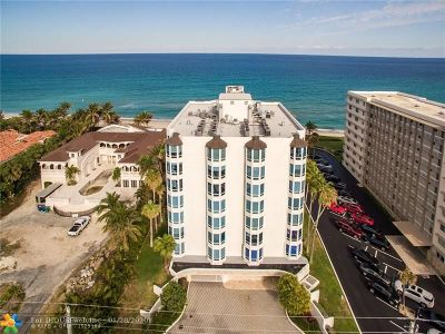 Hillsboro Beach Condo/Townhouse For Sale: 1073 Hillsboro Mile #3S