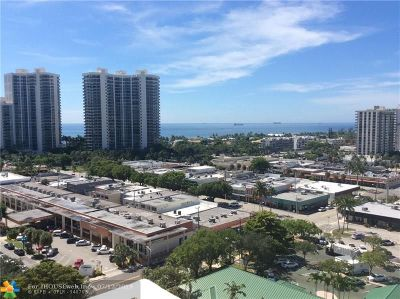 Fort Lauderdale Condo/Townhouse For Sale: 3233 NE 34th St #1514
