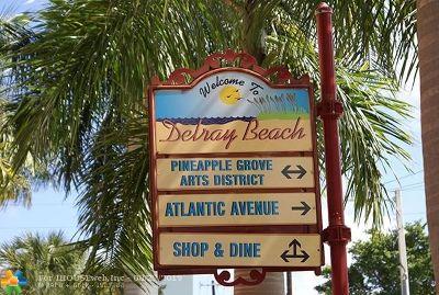 Delray Beach Condo/Townhouse For Sale: 255 NE 3rd Ave #2509