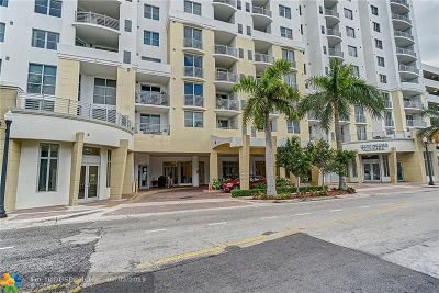 Hollywood Condo/Townhouse For Sale: 1830 Radius Dr #813