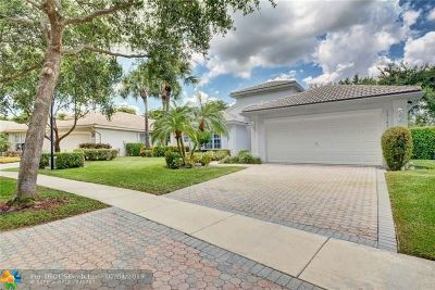 Delray Beach Single Family Home For Sale: 13142 Alhambra Lake Cir