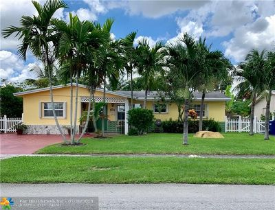 Lauderhill Single Family Home For Sale: 4371 NW 27th St