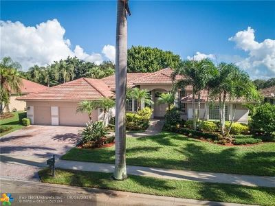 Weston Single Family Home For Sale: 2686 Cypress Ln