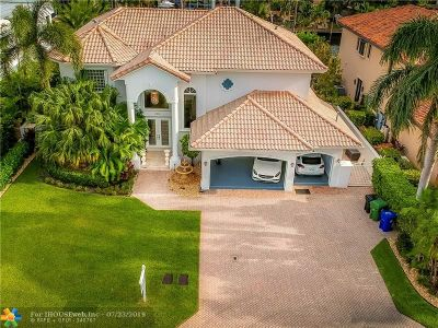 Fort Lauderdale Single Family Home For Sale: 2306 Barcelona Dr