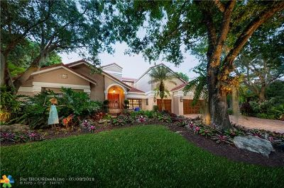 Coral Springs Single Family Home For Sale: 10001 Vestal Pl
