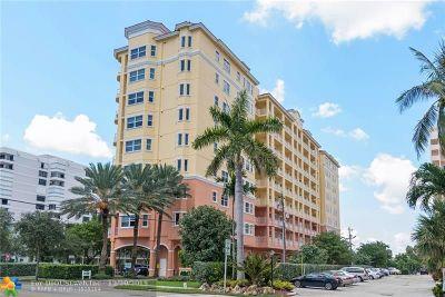 Pompano Beach Condo/Townhouse For Sale: 1395 S Ocean Blvd #201