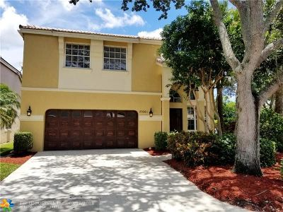 Coral Springs Single Family Home For Sale: 10661 NW 47th Ct