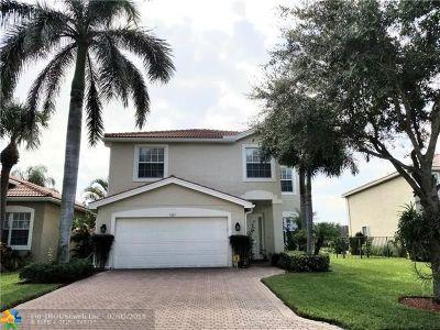 Boynton Beach Single Family Home For Sale: 7815 Parsons Pine Dr