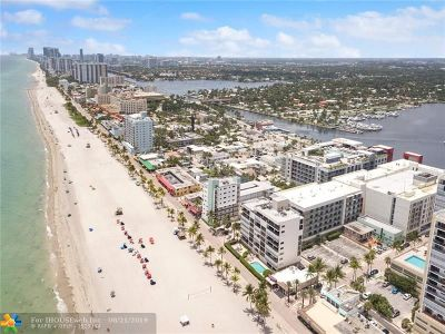 Hollywood Condo/Townhouse For Sale: 777 N Ocean Dr #N406