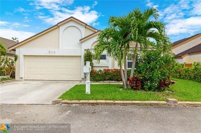 North Lauderdale Single Family Home Backup Contract-Call LA: 312 Bishop Rd