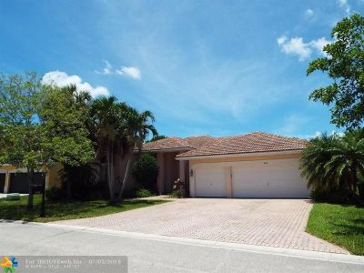 Coral Springs Single Family Home Backup Contract-Call LA: 368 NW 118th Ave