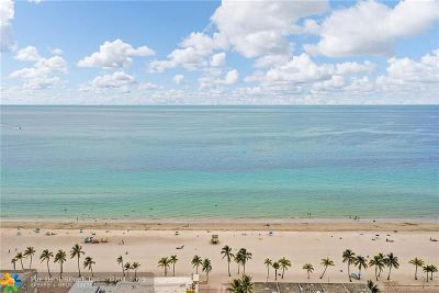 Hollywood Condo/Townhouse For Sale: 320 S Surf Rd #403