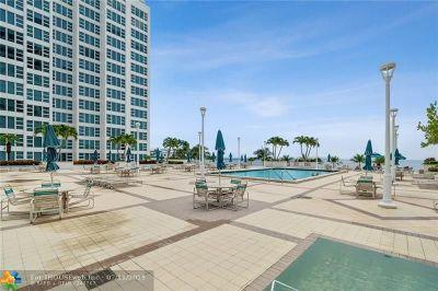 Pompano Beach Condo/Townhouse For Sale: 1620 S Ocean Blvd #8J