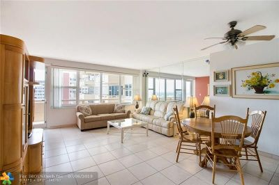 Fort Lauderdale Condo/Townhouse Backup Contract-Call LA: 3333 NE 34th St #1418