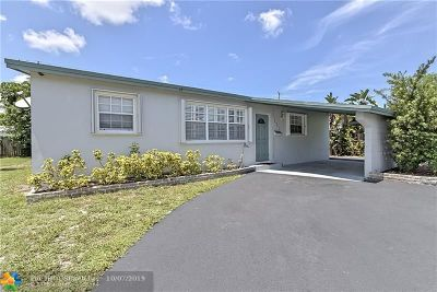 Broward County Single Family Home For Sale: 101 NE 57 Ct