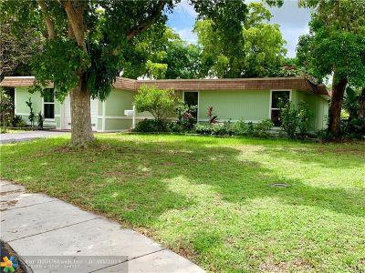 Tamarac Single Family Home Backup Contract-Call LA: 7800 NW 70th Ter