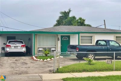 Lauderhill Single Family Home For Sale: 1400 NW 33rd Way