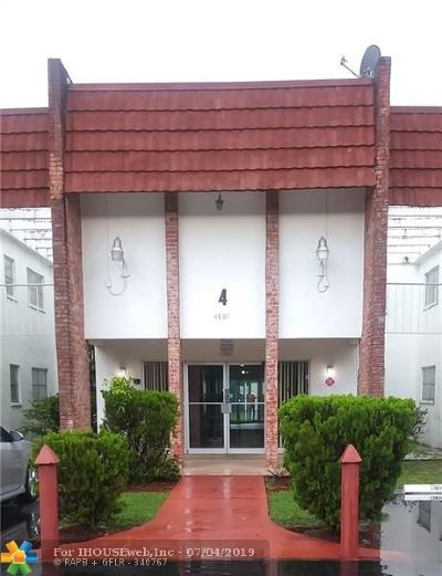 Lauderhill Condo/Townhouse For Sale: 4801 NW 22nd Ct #214