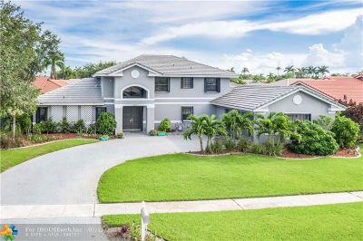Pembroke Pines Single Family Home For Sale: 19410 NW 8th St
