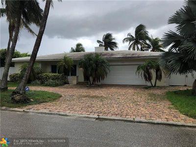 Broward County, Palm Beach County Single Family Home For Sale: 3220 NE 59th St